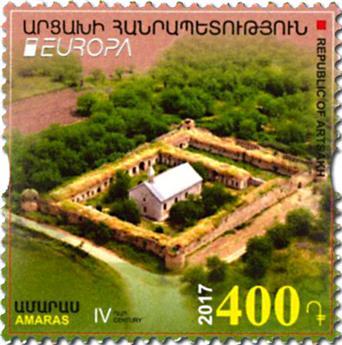 n° 110/111 - Timbre ARMENIE Poste (EUROPA)
