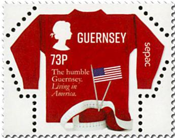 n° 1633 - Timbre GUERNESEY Poste