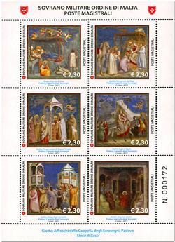 n° 1367/1372 - Timbre ORDRE de MALTE Poste