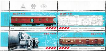 n° 3152/3155 - Timbre ARGENTINE Poste