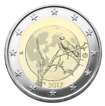 2 EURO COMMEMORATIVE 2017 : FINLANDE (Nature finlandaise)