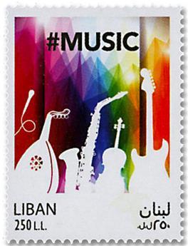 n° 574 - Timbre LIBAN Poste
