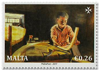 n° 1875/1878 - Timbre MALTE Poste