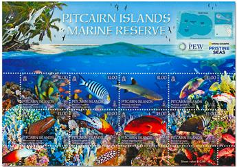 n° 903/910 - Timbre PITCAIRN Poste