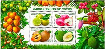 n° 21 - Timbre COCOS (ILES) Blocs et feuillets