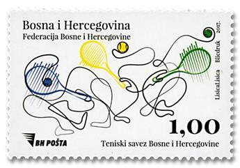n° 770 - Timbre BOSNIE-HERZEGOVINE Poste