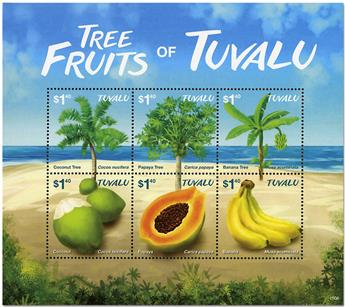 n° 1845/1850 - Timbre TUVALU Poste