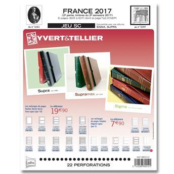 FRANCE SC : 2017 - 2EME SEMESTRE (Jeu avec pochettes)