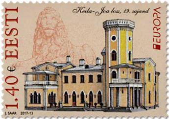 n° 823/824 - Timbre ESTONIE Poste (EUROPA)