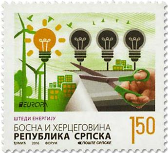 n° 629/630 - Timbre REPUBLIQUE SERBE (DE BOSNIE) Poste (EUROPA)