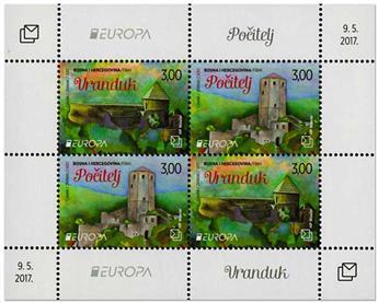 n° 33 - Timbre HERCEG-BOSNA Blocs et feuillets (EUROPA)