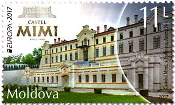n° 865 - Timbre MOLDAVIE Poste (EUROPA)
