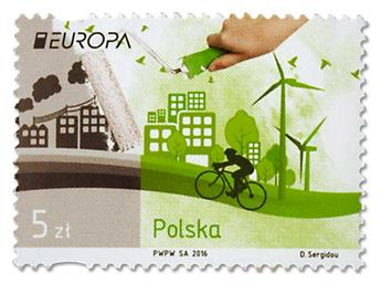 n° 4473 - Timbre POLOGNE Poste (EUROPA)