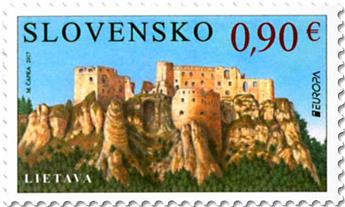 n° 715 - Timbre SLOVAQUIE Poste (EUROPA )