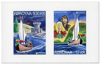 n° 890/891 - Timbre ILE FEROE Poste (EUROPA)