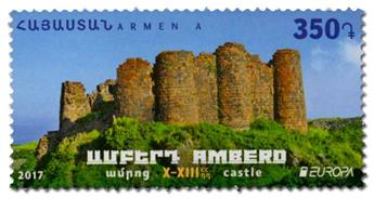 n° 877 - Timbre ARMENIE Poste (EUROPA)