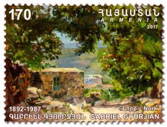 n° 879/880 - Timbre ARMENIE Poste