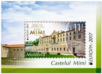 n° C865 - Timbre MOLDAVIE Carnets (EUROPA)