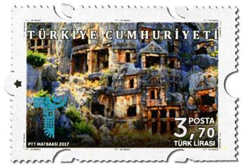 n° 3827/3830 - Timbre TURQUIE Poste
