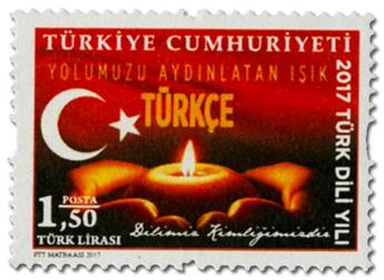 n° 3840/3843 - Timbre TURQUIE Poste