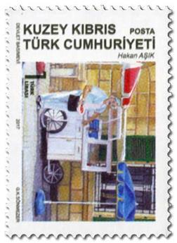 n° 797/798 - Timbre CHYPRE TURC Poste