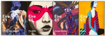n° 2221/2224 - Timbre IRLANDE Poste