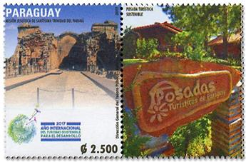 n° 3267 - Timbre PARAGUAY Poste