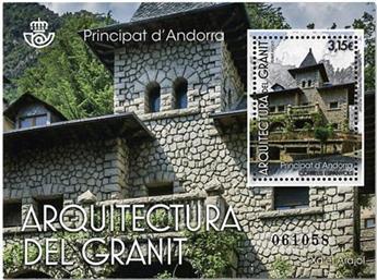 n°448 - Timbre ANDORRE ESPAGNOL Poste