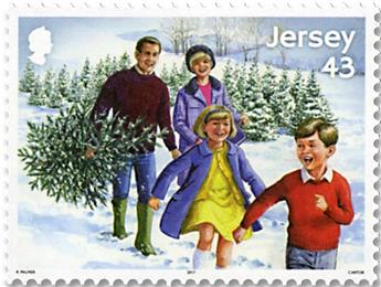 n°2257/2264 - Timbre JERSEY Poste