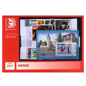 nr. 777/791 -  Stamp Andorra Year set (2016)