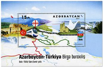 n° 154 - Timbre AZERBAIDJAN Blocs et feuillets