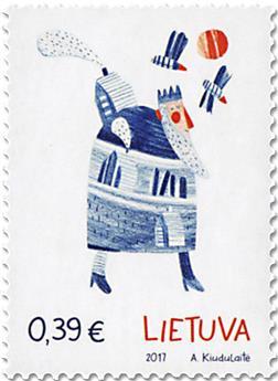 n° 1096/1097 - Timbre LITUANIE Poste