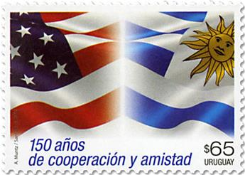 n° 2855 - Timbre URUGUAY Poste