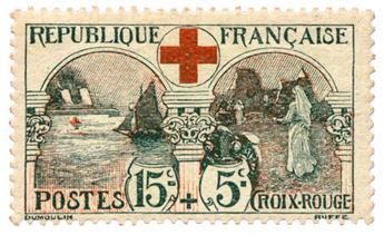 n°156* - Timbre FRANCE Poste