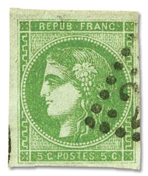 n°42B obl. TB - Timbre FRANCE Poste