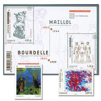 FRANCE : Série Artistique (2011)