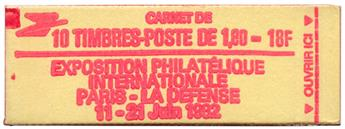 n°2220-C2** - Timbre FRANCE Carnets