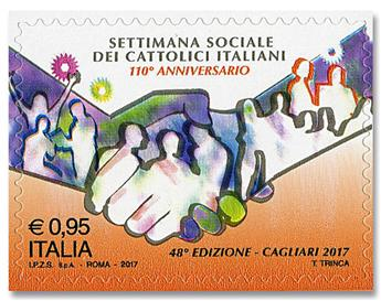 n° 3766 - Timbre ITALIE Poste