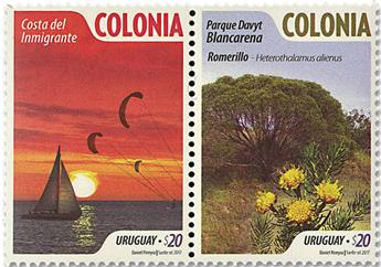 n° 2864/2865 - Timbre URUGUAY Poste