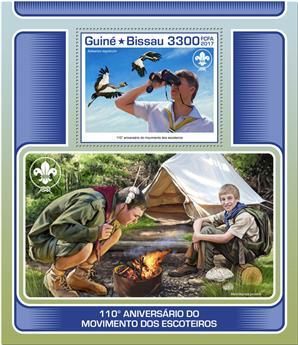 n° 1344 - Timbre GUINÉE-BISSAU Blocs et feuillets