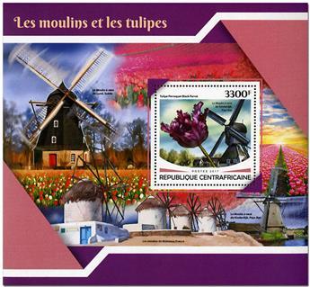 n° 1185 - Timbre CENTRAFRICAINE Blocs et feuillets