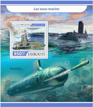 n° 179 - Timbre DJIBOUTI Blocs et feuillets