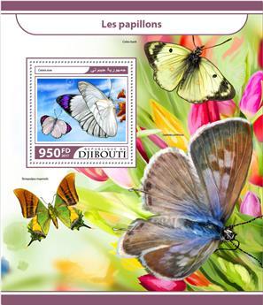 n° 199 - Timbre DJIBOUTI Blocs et feuillets