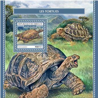 n° 254 - Timbre DJIBOUTI Blocs et feuillets