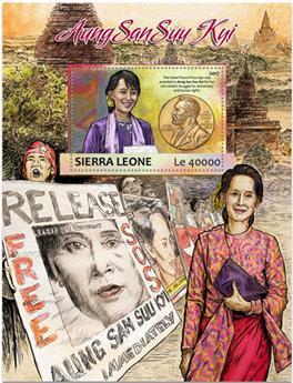 n° 1170 - Timbre SIERRA LEONE Blocs et feuillets