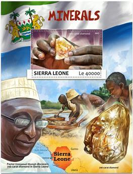 n° 1190 - Timbre SIERRA LEONE Blocs et feuillets