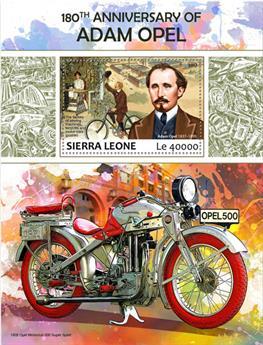 n° 1240 - Timbre SIERRA LEONE Blocs et feuillets