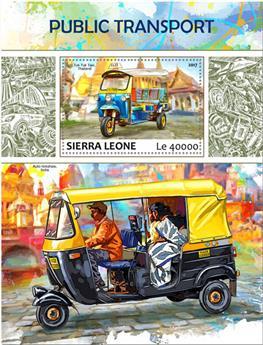 n° 1245 - Timbre SIERRA LEONE Blocs et feuillets