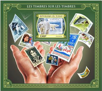 n° 250 - Timbre TCHAD Blocs et feuillets