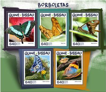 n° 7288/7292 - Timbre GUINÉE-BISSAU Poste